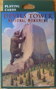 Devils Tower NHA I Devils Tower Legend Playing Cards