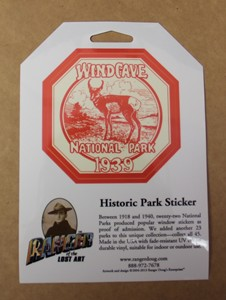 Historic Park Sticker - Wind Cave