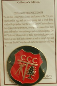 CCC Hiking Medallion