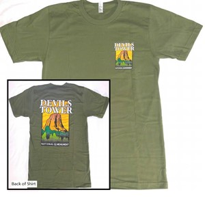 Devils Tower Short Sleeve Shirt