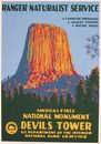 Devils Tower WPA Poster