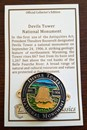 Devils Tower Official Collector's Edition Hiking Stick Medallion
