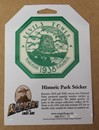 Historic Park Sticker - Devils Tower