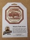 Historic Park Sticker - Yellowstone
