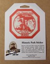 Historic Park Sticker - Mount Rushmore
