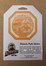 Historic Park Sticker - Badlands