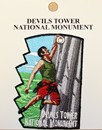 Devils Tower Climbing Patch