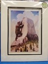"Devils Tower Legend - Matted 8"" x 10"""