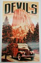 Devils Tower Scenic Highway Poster
