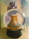 Devils Tower Winter Snow Globe