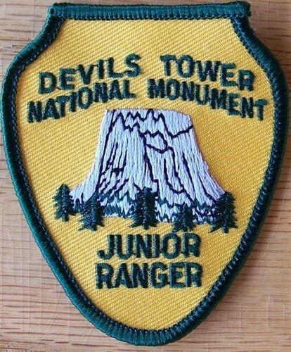 Devils Tower NHA I Devils Tower Junior Ranger Patch