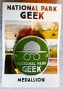 National Park Geek Hiking Medallion